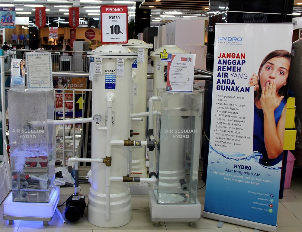 filter air HYDRO Mitra 10 serpong